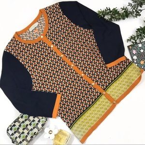 Spartina {449} patterned cardigan